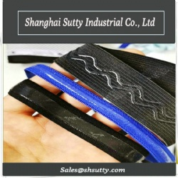 Elastic Band with Silicone Printing Anti-skidding Webbing Belt